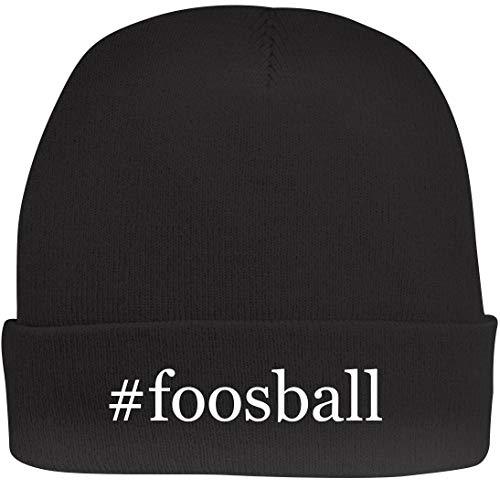 Voit Tabletop - Shirt Me Up #Foosball - A Nice Hashtag Beanie Cap, Black, OSFA