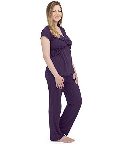 208217214af Kindred Bravely Davy Ultra Soft Maternity & Nursing Pajamas Sleepwear Set