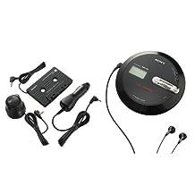Sony DNE336CK MP3/ATRAC CD Walkman Portable CD Player with Car Accessories