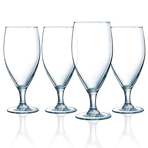 Luminarc N7520 Atlas 16.5 Ounce Iced Beverage Glass, Set of 4, 1, Clear