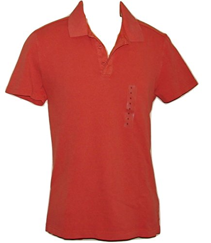 - GAP T-Shirt Navy Blue Gray Stripes Cotton Polo S Mens Men Short Sleeve Collared (S)