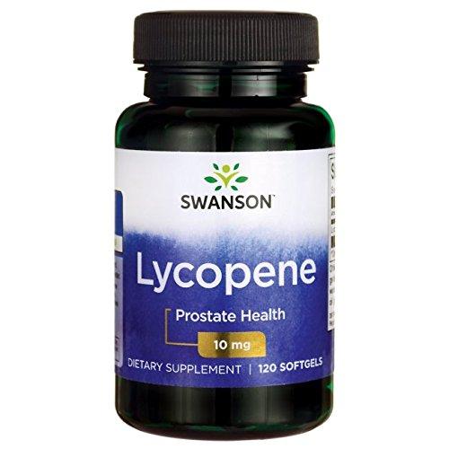 Swanson Lycopene 10 Milligrams 120 Sgels