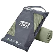 Rainleaf Microfiber Towel Perfect Travel & Sports &Beach Towel. Fast Drying – Super Absorbent – Ultra Compact. Suitable…