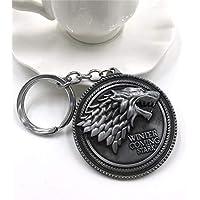 Llaveros de YPT, diseño de Game of Thrones The Hunger Games, superhéroes de la película, lobo, superhéroe, Capitán América, Type38
