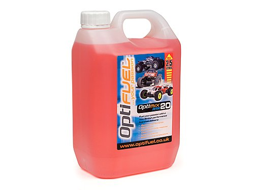 Optifuel Optimix RTR 20% Nitro Car Fuel 2.5 Litres OP1005