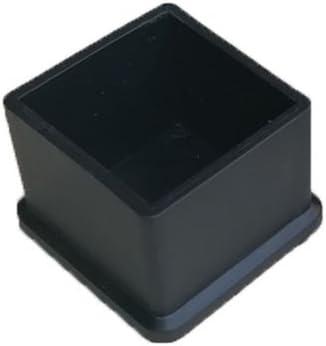 4pcs Silicone chaise casquettes pieds tampons mobilier Table couvre plancher prot/ège-jambes pour cercle Diam/ètre 16mm