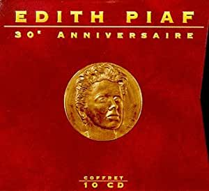 Edith Piaf 30th Anniversaire Coffret 10 Cd Import