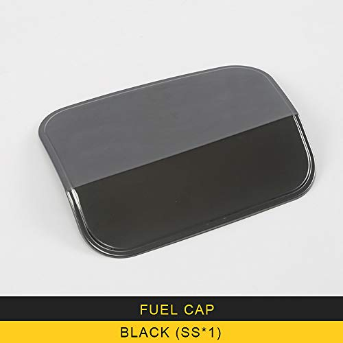 ANTEKE ABS Car Fuel Cap Oil Gas Tank Cap Cover Trim Car Exterior Accessories Fit for Lexus ES200 ES300 ES260 (Fuel Cap-blackX1)