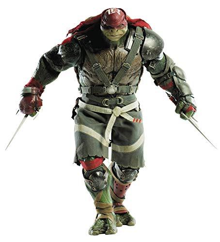 ThreeZero Teenage Mutant Ninja Turtles Out of The Shadows Raphael (1:6 Scale) Action Figure (Renewed) (Teenage Mutant Ninja Turtles Raphael Action Figure)
