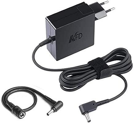 KFD 65W Adaptador Cargador Portátil para ASUS UX305F D509DA X202 S200 Q200 K543UA R540MA S512DA X540UB X540LA X540SA R560UD TP412UA ZenBook 14 UX433FA ...