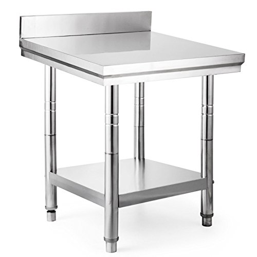 Stainless Steel Work and Prep Table for Restaurant / Kitchen by Knick Knack Supplies
