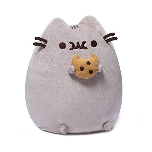GUND Pusheen Snackable Cookie Stuffed Animal Plush, 9.5""