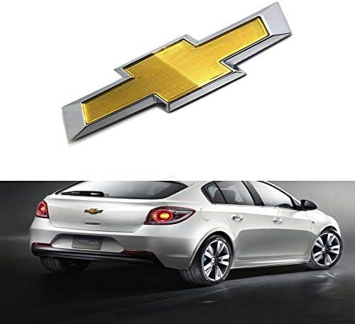 car sales 2011-2014 Chevy Cruze Front Bumper Emblem Gold Chrome Grille Badge Grill Sign Symbol Logo (Original, front)