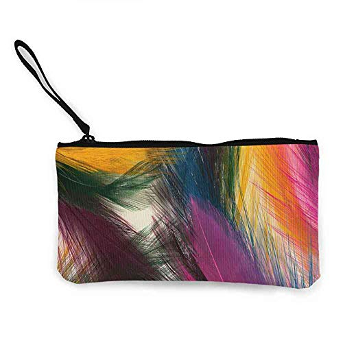 """Canvas Coin Wallets Abstract,texture, Abstract, Background, Colors Wallpaper HD New Fashion Wristlets Wallets W 8.5""""x L 4.5"""""""