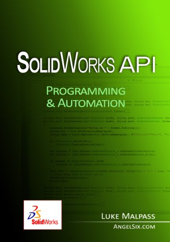Amazon Com Solidworks Api Series 1 Programming Automation Ebook