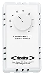 Air King Dh55 Dehumidistat Switch, White