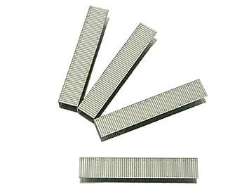 BLACK & DECKER X70506-QZ - 1440 Grapas de alambre plano de Long. 6mm, Ancho interior 9,5mm, Ancho exterior 10.6mm, Grosor 1.26mm. Para A5753 / X72011 / X72012 / X72013 / X72014. Uso intensivo. Stanley Black and Decker B/DX70506