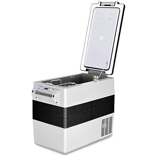 igerator Freezer, 54-Quart Electric Cooler, AC & DC Mini Fridge for Car, RV, Outdoor Camping and Travel ()