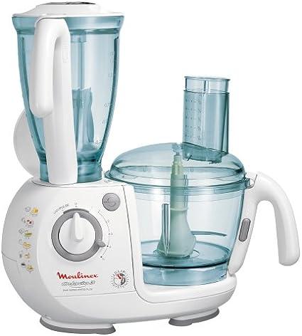 Moulinex dfc542 Odacio 3 Duo Super Press Plus Robot de cocina color blanco: Amazon.es: Hogar