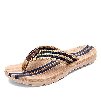 Das Wort ziehen und rutschfeste Badeschuhe coole Hausschuhe paar Tide und zwanglose Männer Schuhe, männlich, weiblich, 39, Blau