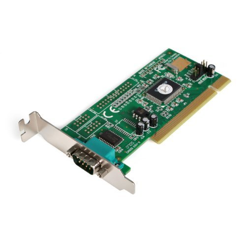StarTech.com 1 Port PCI Low Profile RS232 Serial Adapter Card with 16550 UART (PCI1S550_LP) Size: 1P Low Profile, Model: PCI1S550_LP, Electronics & Accessories Store by Gadgets World