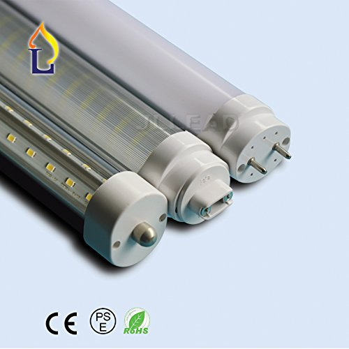 (15PACK) 1200mm 40W clear cover Led T8 Fluorescent Replac...