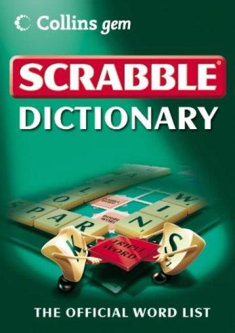 Scrabble Dictionary (Collins Gem): Amazon.es: Not Known: Libros en idiomas extranjeros