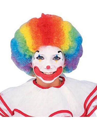 Clown Wig, Multi-color -