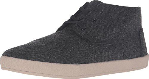 Grey Herringbone Sneaker 7.5 D (M) ()