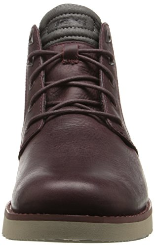 Teva M Mahogany Leather Durban Men's Boot rFx7wqF81n