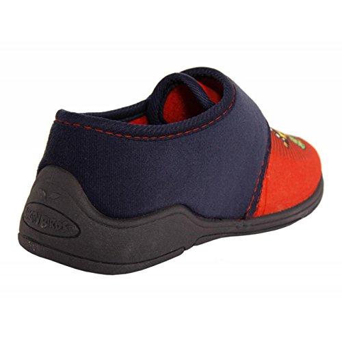 Calzado de casa de Niño DISNEY AB551047-B3140 RED-NAVY