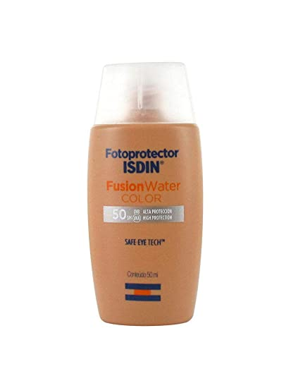 Isdin Fotoprotector Fusion Water Color Spf 50 50ml Amazon Co Uk