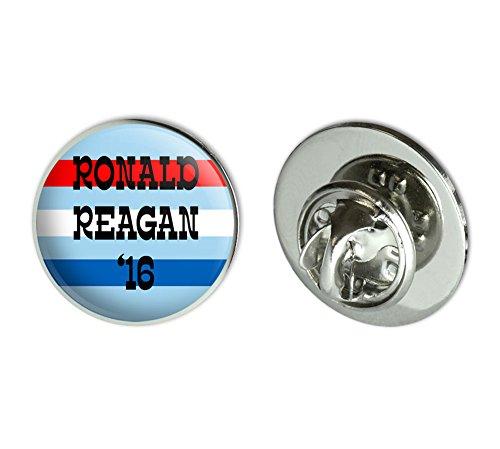 Ronald Reagan President Round Pinback