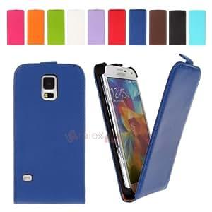 Bralexx 2406 - Funda con tapa para Samsung Galaxy S5 G900F, color azul