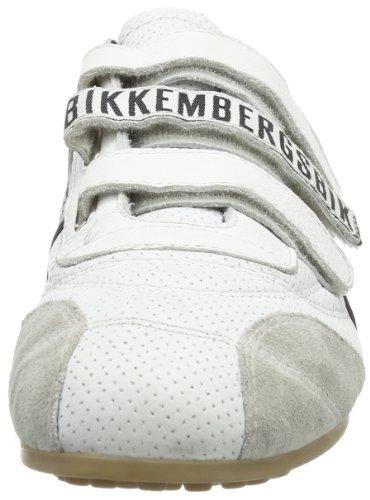 526 collo Adulto a basso Soccer Unisex Black Sneaker Bikkembergs White Bianco IpwxqO5wF