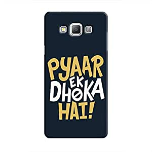 Cover It Up - Love Betrays Galaxy A8 Hard Case