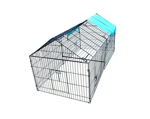 BestPet Chicken Cook Chicken Cage Pens Crate Rabbit Cage Enclosure Pet Playpen Exercise Pen by BestPet