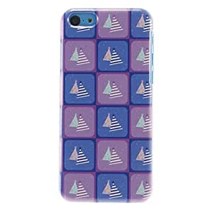 SHOUJIKE Grid Pattern with Presents Hard Case for iPhone 5C