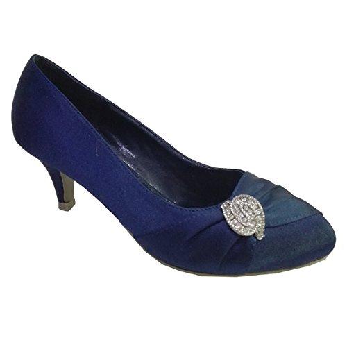 Femme Compensées Boutique Bleu Absolutely Sandales Marine Gorgeous IBCqxwna