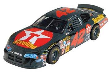Slot Nascar Car Racing (SCX Dodge Charger #42 Montoya-Texaco Havoline)