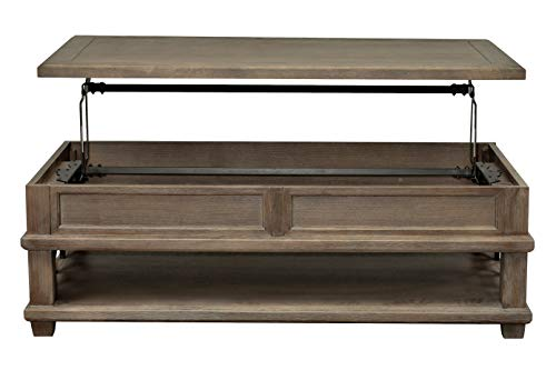 - Martin Furniture IMCA110 Rectangular Coffee Table with Lift, Brown