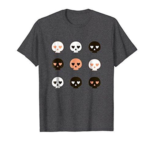 Halloween Skulls Cute TShirt