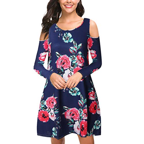 t Shirt Dress for Women,ONLY TOP Women's Summer Dresses Long Sleeve Swing Dress Casual Mini Dress with -