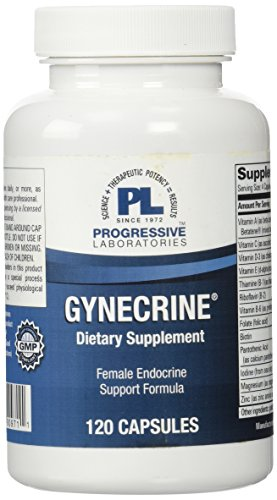 Labs Progressive Amino Blend (Progressive Labs Gynecrine Supplement, 120 Count)