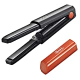 Deogra Cordless Mini Hair Straightener USB Rechargeable Flat Iron Ceramic Tourmaline Straightening Iron
