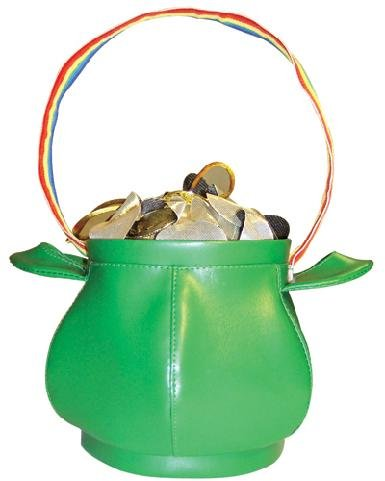 Pot of Gold Handbag Costume Accessory]()
