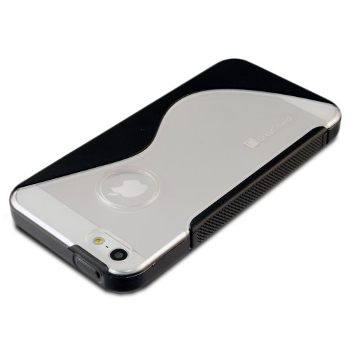 GreatShield Guardian S TPU + PC Case for iPhone 5/5s/SE - Clear / Smoke