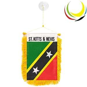 Mini banner-st. Kitts & nevis-