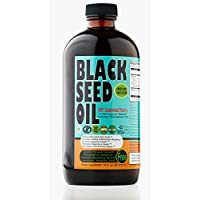 Sweet Sunnah Black Seed Oil Liquid - 2.26% Thymoquinone Cold-Pressed Black Cumin...