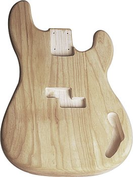 P Bass® Body Ash Unfinished